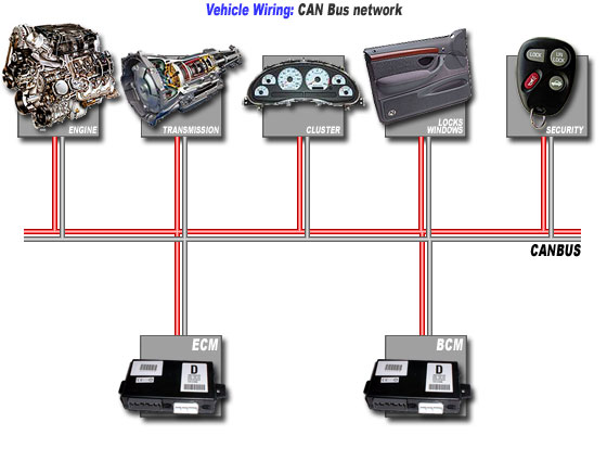 Computer and Electronics – Can Bus Wiring Diagram